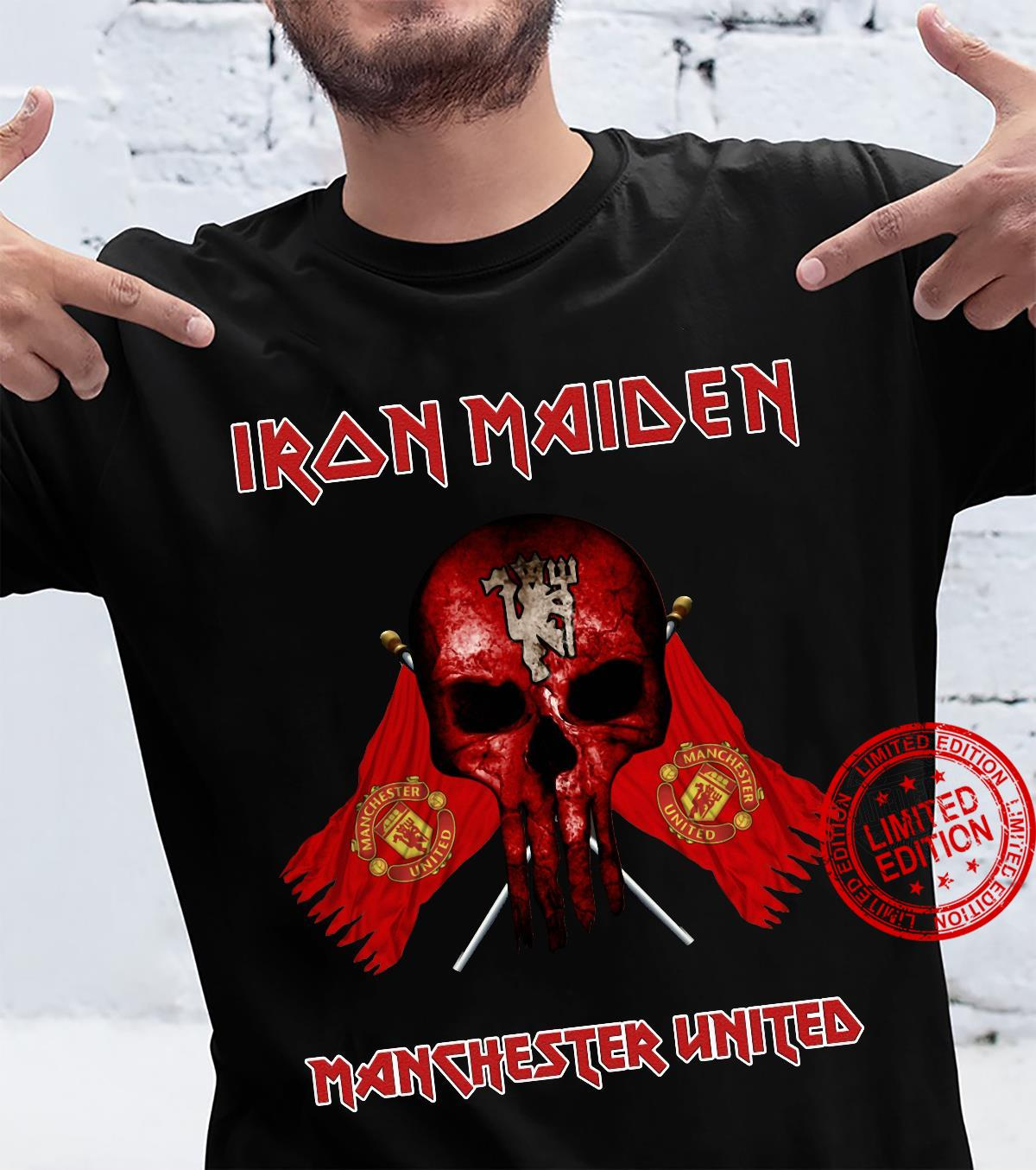 Iron Maiden Maschester United Shirt