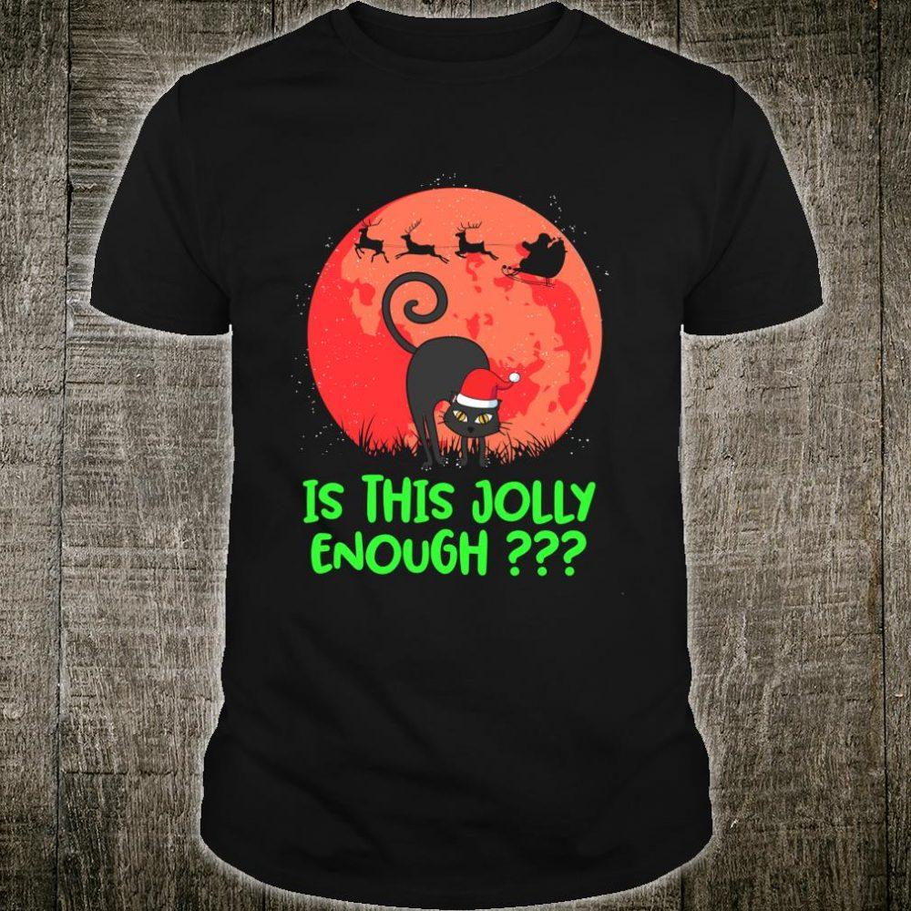 Is this jolly enough Black Cat Christmas Kitten Shirt