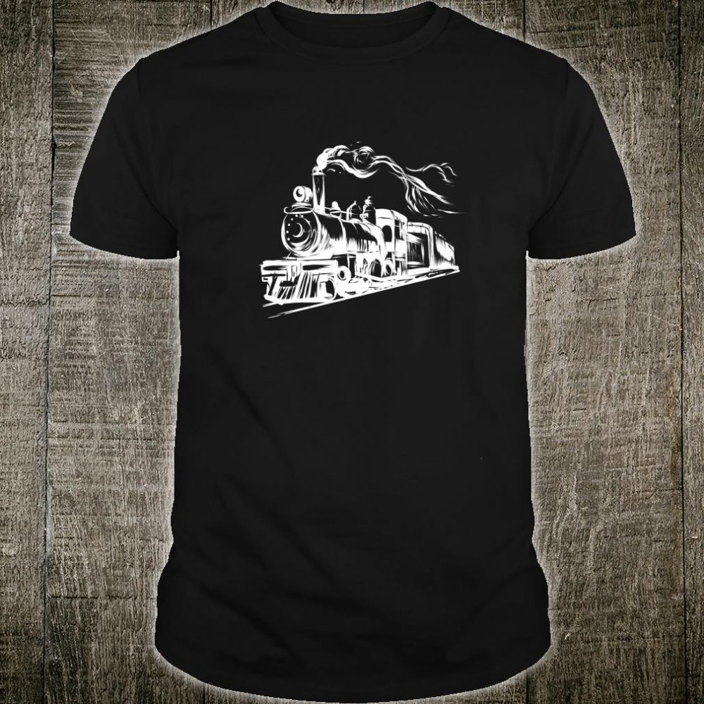 Locomotive Train Railroad Mechanic Engineer Shirt