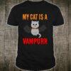 My cat Is A Vampurr Halloween Shirt