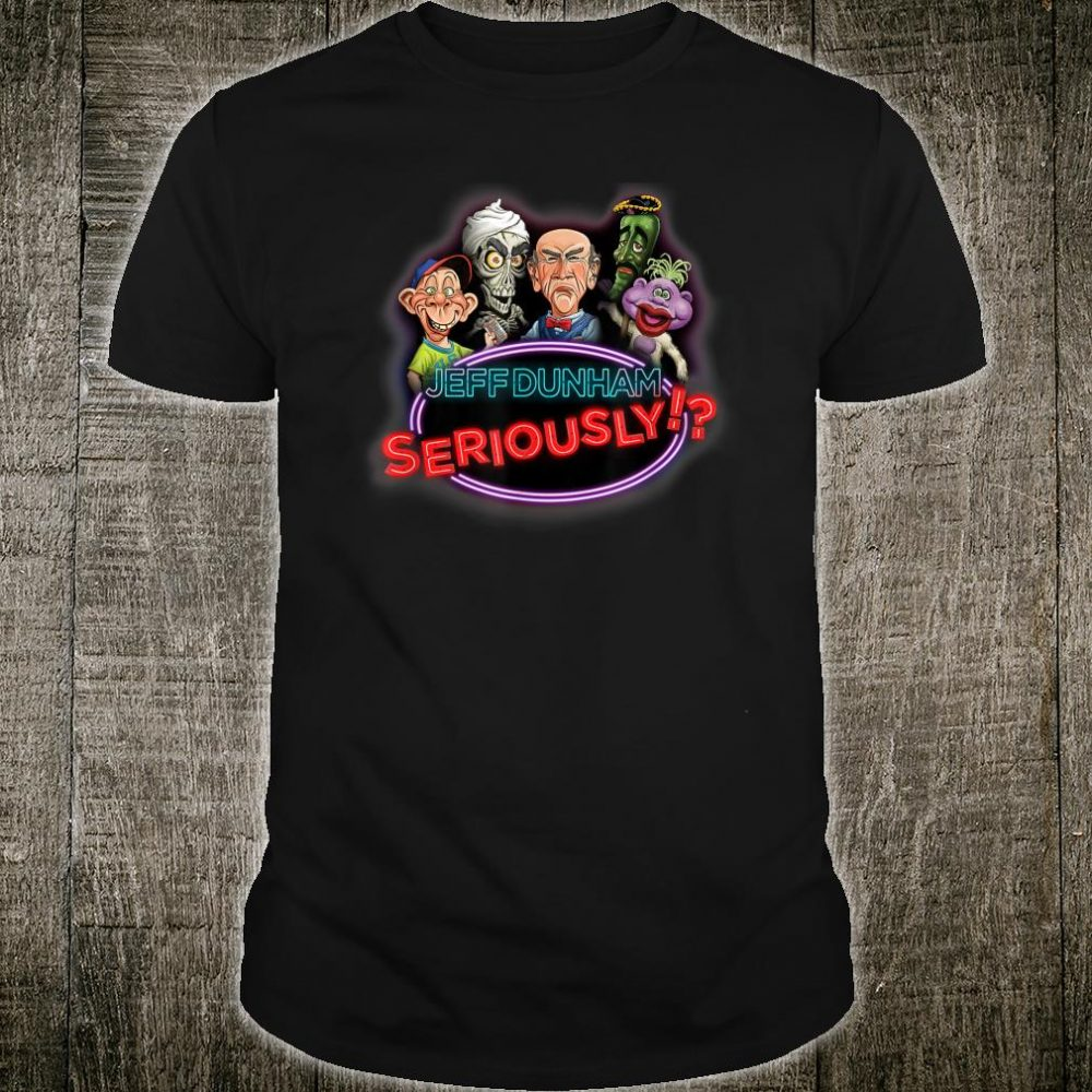 Official Seriously Tour with Dates Shirt