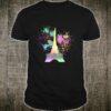 Paris Eiffel Tower Rainbow Paint Splats Shirt
