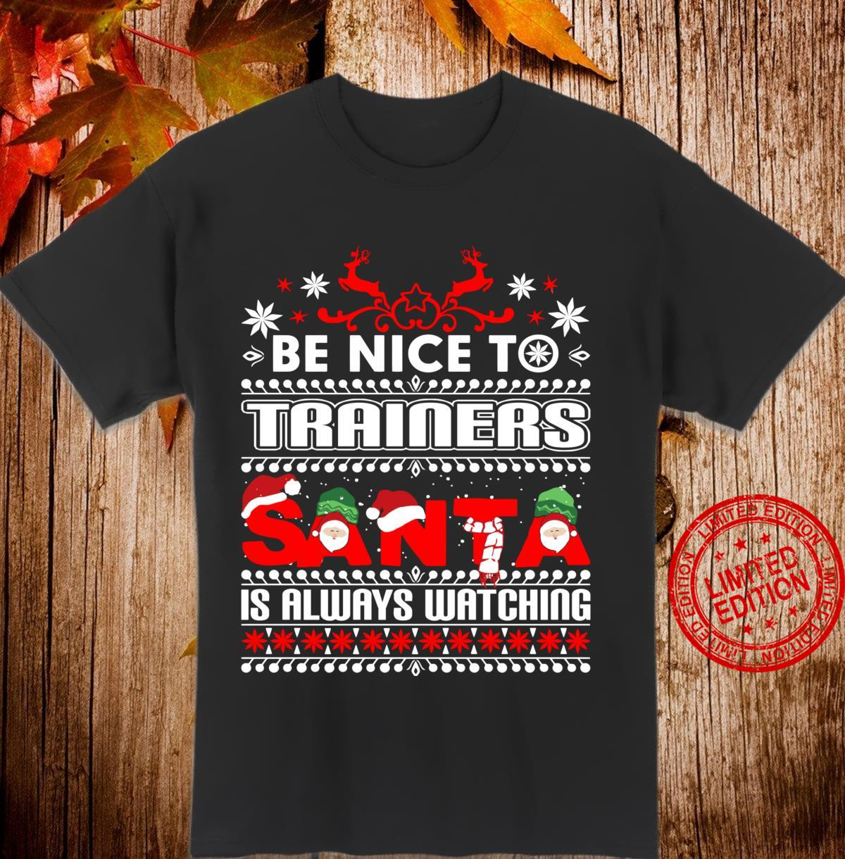 Personal Trainer Ugly Christmas Workout Shirt