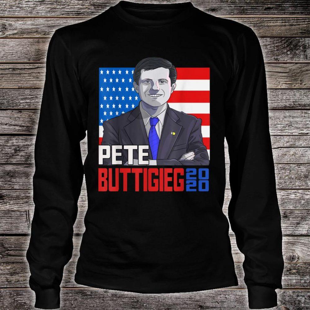 Pete Buttigieg 2020 President Mayor Pete for America Shirt long sleeved