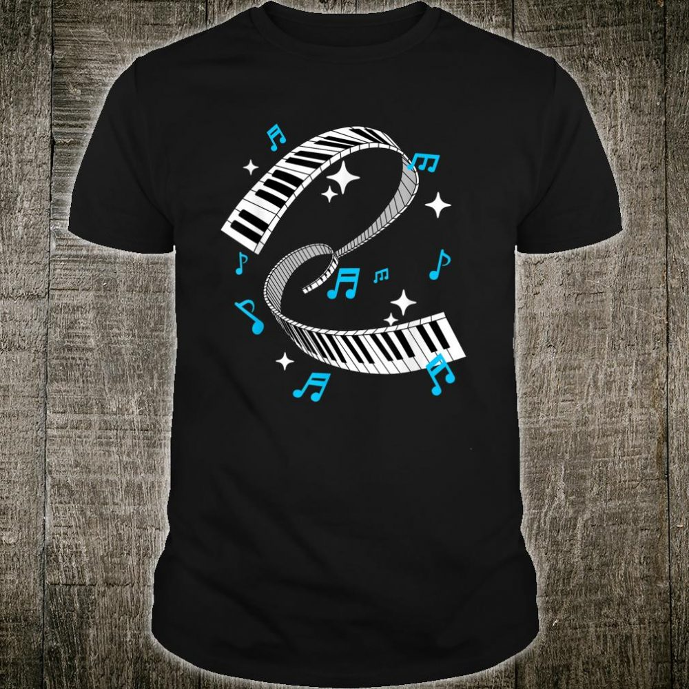 Piano Player Product Piano Teacher Keyboard Notes Shirt