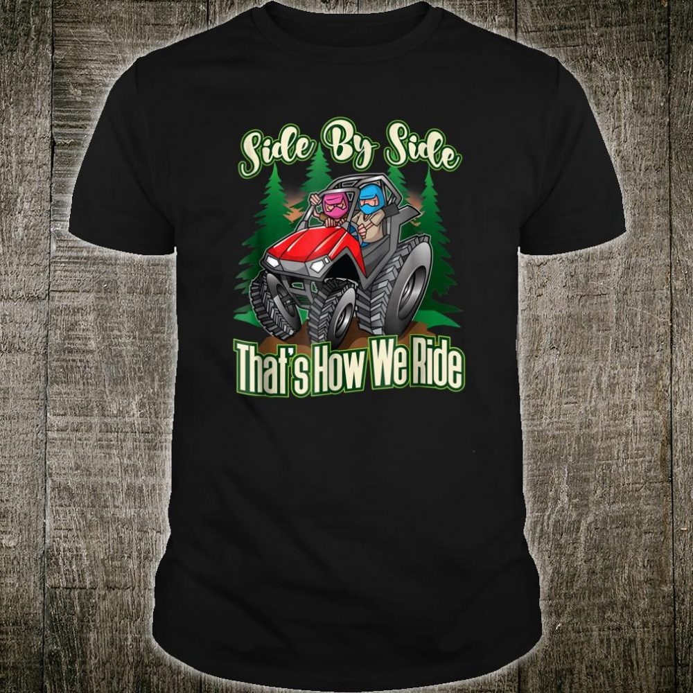 Side By Side ATV Four Wheeler Off Road Riding Shirt