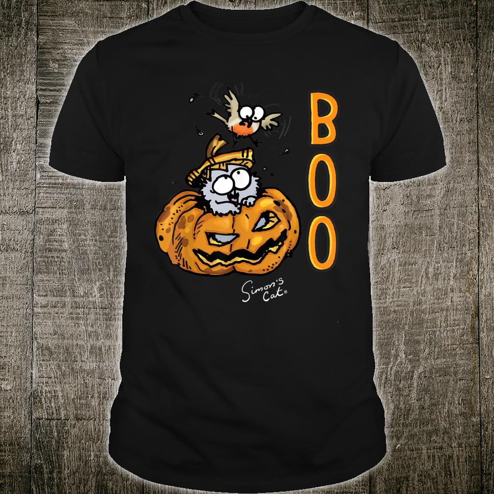 Simon's Cat Boo Dark Shirt