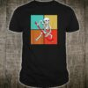 Skeleton Hockey Halloween Shirt