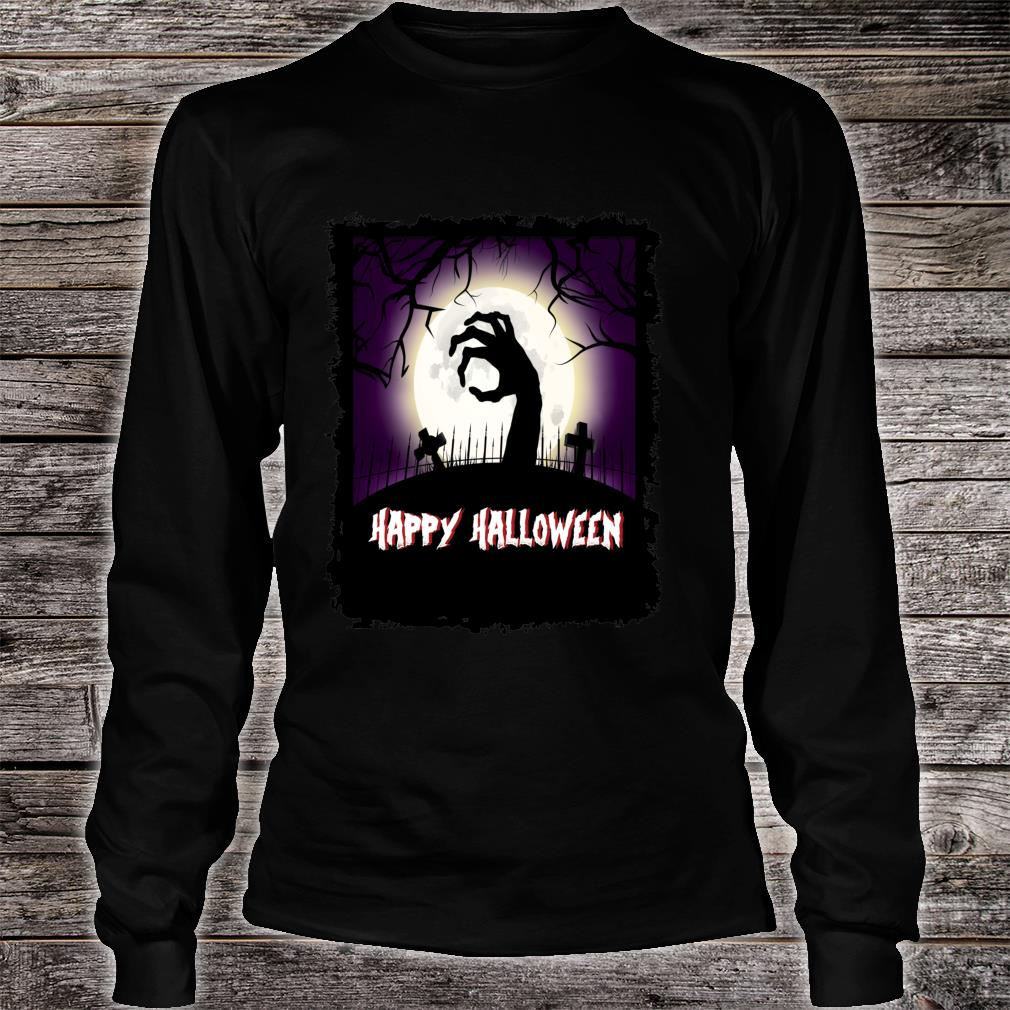 The Dead Rising Scary Halloween Shirt long sleeved