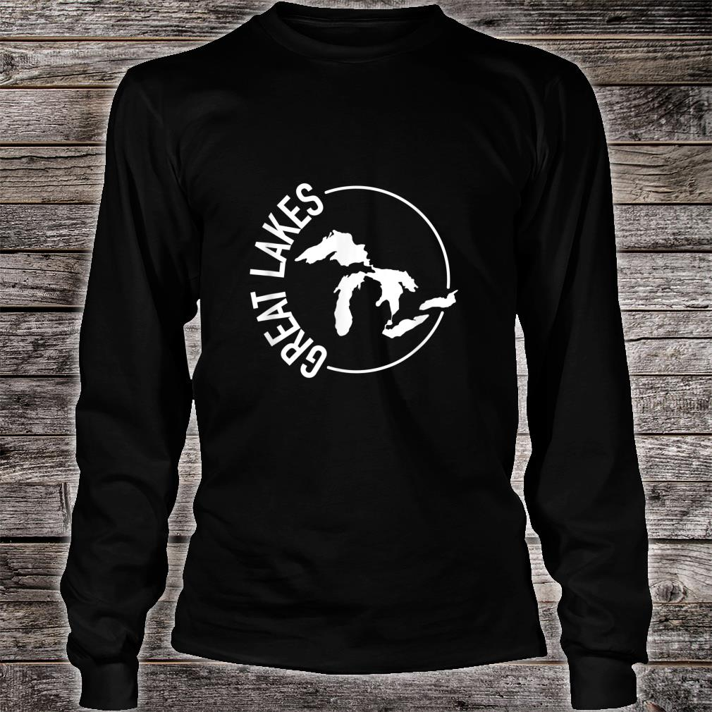 The Great Lakes USA White Shirt long sleeved