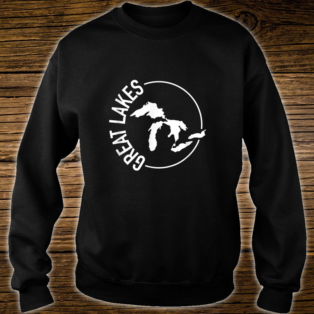 The Great Lakes USA White Shirt sweater