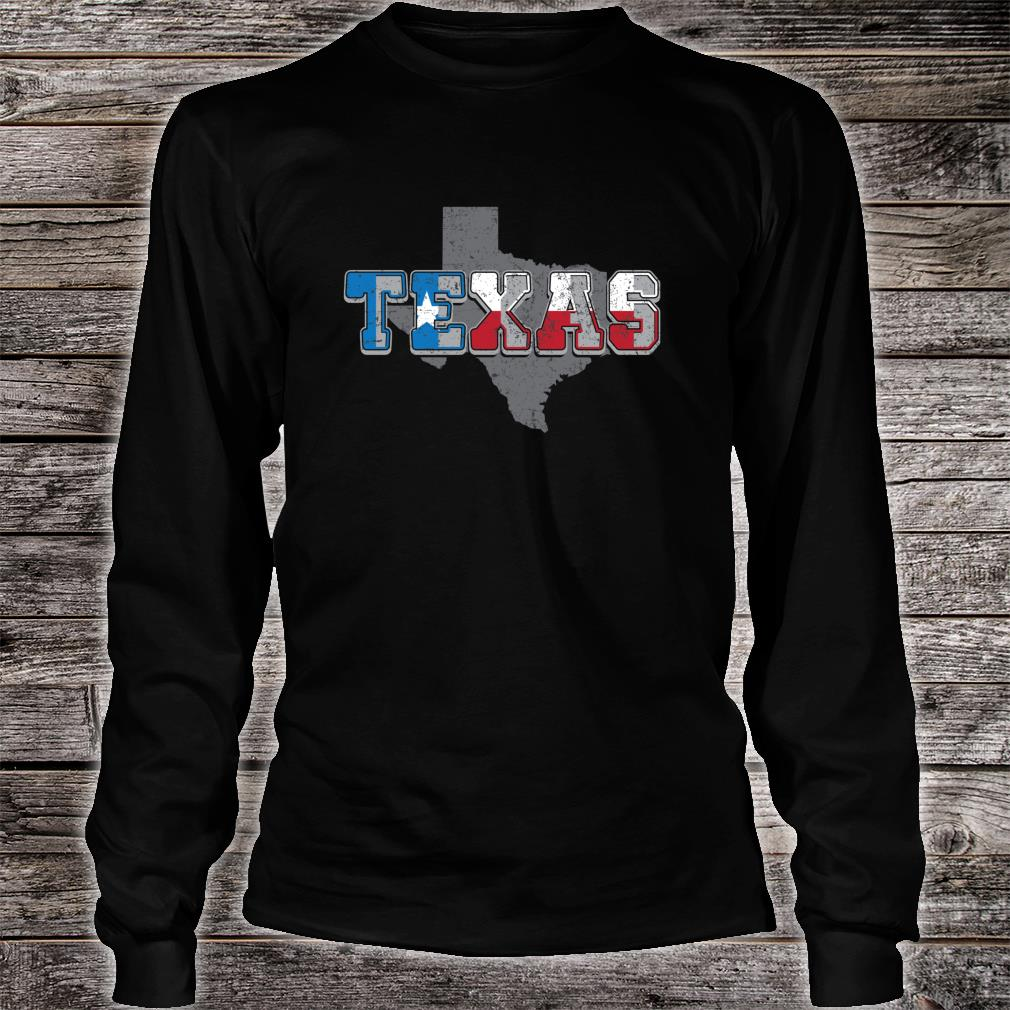 The Great State of Texas Shirt long sleeved