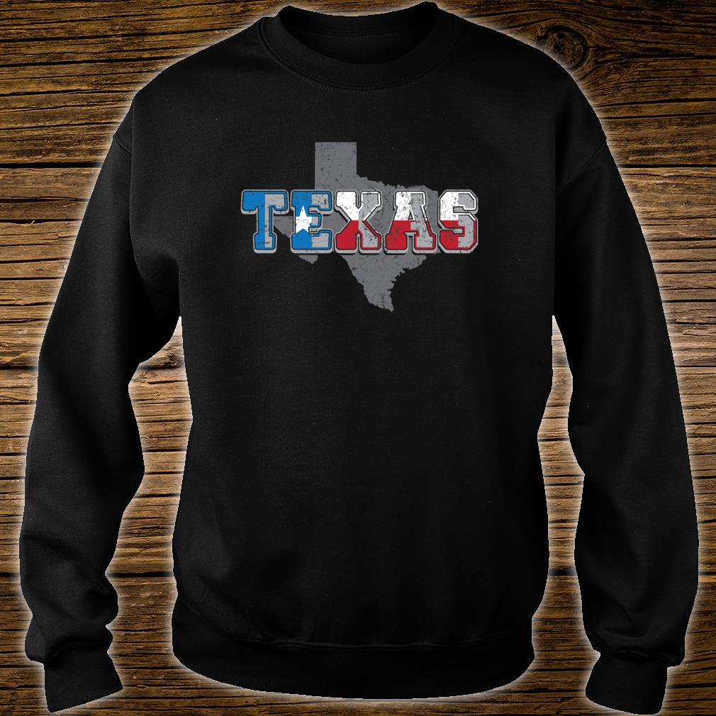 The Great State of Texas Shirt sweater